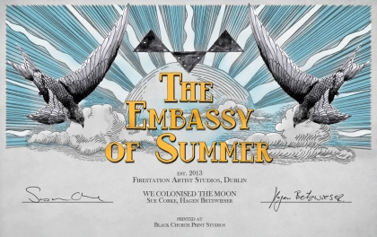 'Embassy of Summer', print, 2013